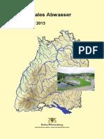 4 Kommunales Abwasser Lagebericht 2013
