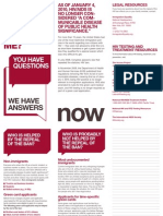 HIV Travel and Immigration Ban FAQ and Brochure Screen Version
