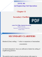 Clarifier Design Chap 11