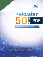Kekuatan 50 Institusi Ilmiah Indonesia Tahun 2016