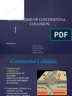 Mechanisms of Continental Collision