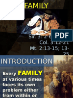 Dec 30 Holy Family 2016 Homily
