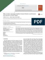 Effect of diesel–microalgae biodiesel–butanol blends on performance and emissions of diesel engine