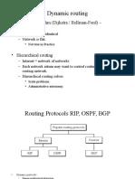 Routing Protocols RIP, OSPF, BGP