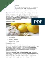 Beneficios Del Ajo Con El Limón