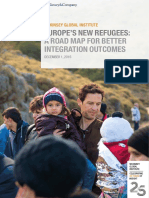 A Road Map for Integrating Europes Refugees
