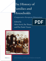 Silvia Sovič, Pat Thane, Pier Paolo Viazzo The History of Families and Households Comparative European Dimensions