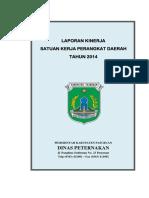Lakip Dinas Peternakan Pasuruan 2014