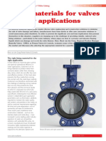Lining Materials for Water Applications Valve World Nov 2014 REPRINT