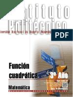 1306-16 MATEMATICA Función Cuadrática