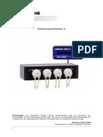 Manual instrucciones PDF Aquamedic Reefdoser EVO 4 Bomba Peristaltica Dosificadora Acuario