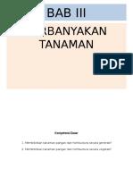 Bab III Perbanyakan Tan