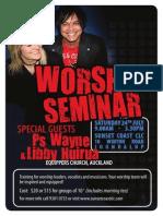 Worship Seminar 2010