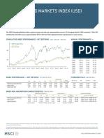 Msci Emerging Markets Index Usd Net