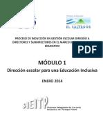 Mod 1 Direccion Escolar (2014)