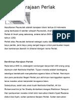 Kerajaan Perlak & Cirebon