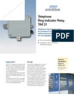 Telephone Ring Indicator Relay