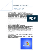 Sistemas de Microsoft