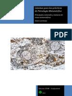 Láminas para las prácticas de Petrología Metamórfica