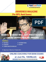 Download General Awareness Magazine Vol 22 April 2016 Www.bankexamportal.com