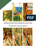 Validacion Cata Panel Check 2015
