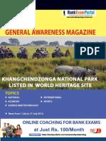 Download General Awareness Magazine Vol 26 August 2016 Www.bankexamportal.com