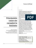 Corupția în România