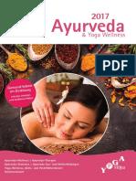 Yoga Wellness  Ayurveda 2017 - Yoga Vidya Bad Meinberg