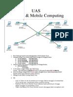 Contoh soal jaringan wireless mobile  (cisco packet tracer) UIN Bandung