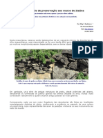 A Necessidade de Preservação Aos Muros de Itaúna