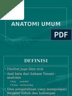 002 ANATOMI UMUM