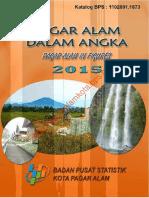 Pagar Alam Dalam Angka 2015