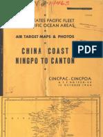 China Coast Target Maps (1944)