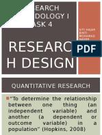 QUANTITATIVE and Qualitative Research Design