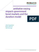 how QE is affecting bond markets