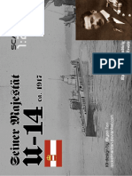 WWI Submarine u 14 by Rocketmantan-d88fq06