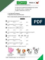 Comper-Matematica Clasa2 Etapa1 2015-2016