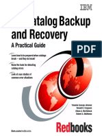 ICF Catlog Backup and Recovery