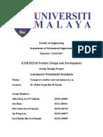 Product Design DevelopmentGroup Project