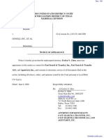 PA Advisors, LLC v. Google Inc. et al - Document No. 136