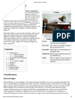 Fatigue (Medical) - Wikipedia