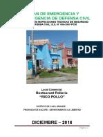 Plan de Seguridad de Defensa - Rico Pollo