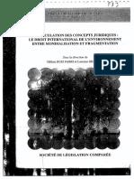 Fonction Intersystémique Du Concept de Développment Durable - Laurence Dubin