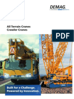 All Terrain Cranes - Crawler Cranes
