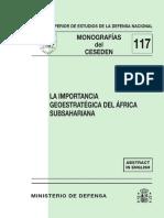 117 La Importancia Geoestrategica Del Africa Subsahariana