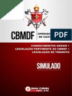 Simulado CBMDF Operador e Cond. Viaturas