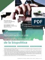 Cartografía Conceptual de La Biopolítica