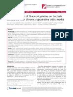 In-Vitro Efficacy of N-Asetilsystein Pada OMSK