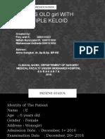 PRESKAS BEDAH PLASTIK Keloid(Revised)