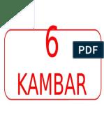 6 KAMBAR